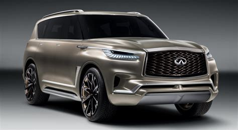 Infiniti Qx80 Backgrounds by Animated Debut 2017 Infiniti Qx80 Monograph Concept