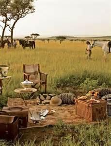 Serengeti National Park in Picnic