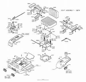 Dixon Ztr 4515b  1999  Parts Diagram For Body