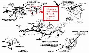 1984 Ford Mustang  A Newer 93 Rear End  Cables  Hand Brake