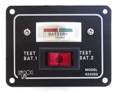 Boat Battery Level Indicator by Battery Condition Gauges That Show The Batteries Current