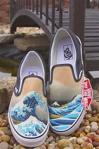 Custom, Painted, Vans, Shoes, 43