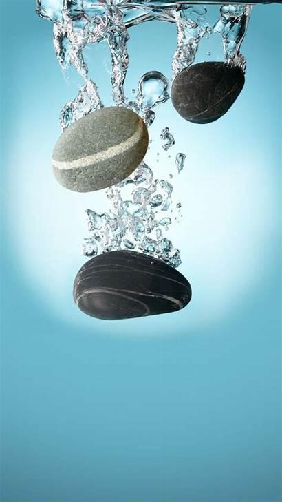 Iphone Wallpapers Zen Water Background Pebbles Phone