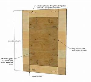 Ana White Build a Easy Frame and Panel Doors Free and