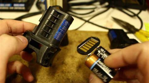 TASER X26 Battery Tear-down - YouTube