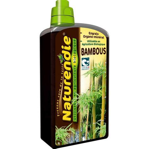 engrais bambous flacon de 1 litre naturendie jardinerie truffaut