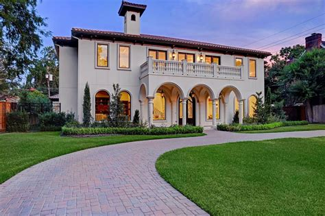 Houston Mediterranean Homes, Houses, Real Estate, Properties