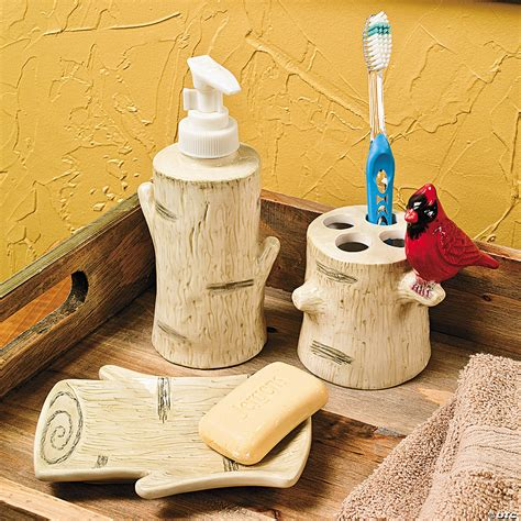 Birch Tree Bathroom Accessories - Discontinued