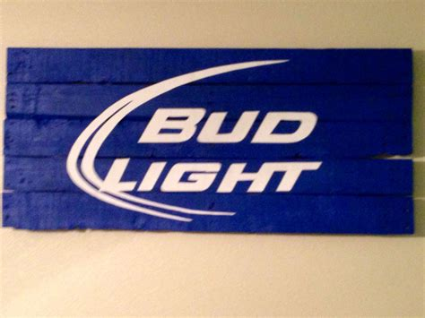 where is bud light made bud light wooden sign things i ve made