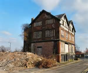derelict building   islington  gerald england