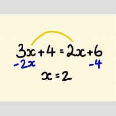 Solve Linear Algebra Equations With Variables On Both Sides Easily With No Problems (ok We All