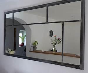 Miroir Pour Entrée : miroir eurus 120cm art industriel ~ Teatrodelosmanantiales.com Idées de Décoration