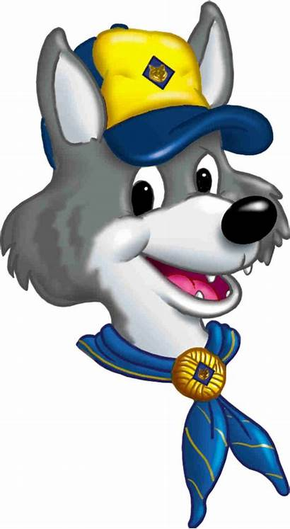 Scout Cub Wolf Clip Clipart Scouts Cartoon