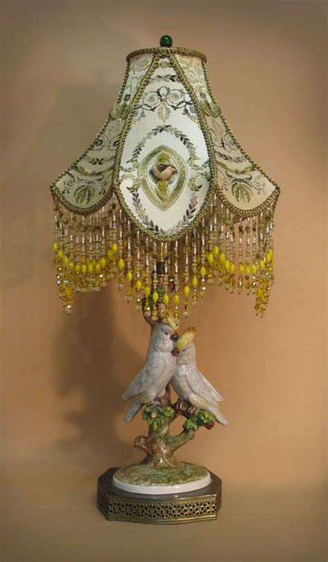 Victorian Beaded Lamps by 1000 Images About Antique Lamp Shades On Pinterest