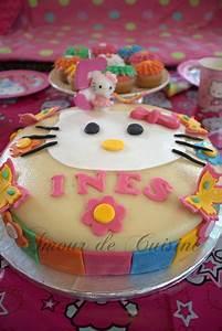 Gateau Anniversaire 2 Ans : gateau d 39 anniversaire hello kitty amour de cuisine ~ Farleysfitness.com Idées de Décoration