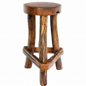 Chaise De Bar Bois : les concepteurs artistiques chaise de bar en bois rustique ~ Dailycaller-alerts.com Idées de Décoration
