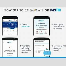 Bhim Upi How To Use Bhim Upi Payment Feature In Paytm App  Gadgets Now