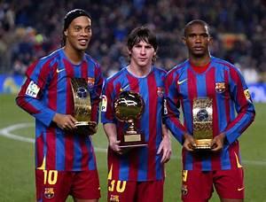 En El FC Barcelona Lionel Messi