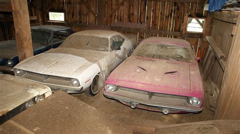 Found In Barn by An Treasure Of Stunning Mopars Found At
