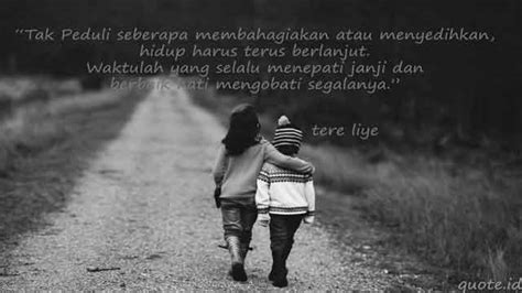 quotes cinta terkenal  tere liye quotes id
