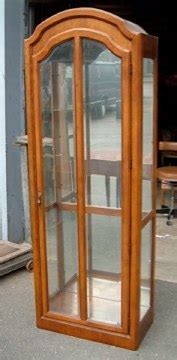 lighted curio cabinet for sale lighted curio cabinet for sale antiques com classifieds