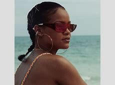 Rihanna Reveals Her Real Hair in Cute French Braid Style