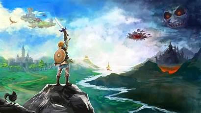 Zelda Legend Breath Wild Wallpapers