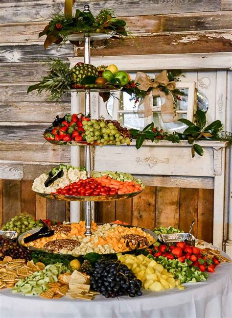 ideas  fruit buffet  pinterest salad bar