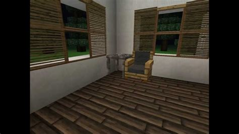 Minecraft Modern House With Jammy's Furniture Mod Youtube