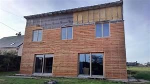 Maison en paille et en ossature bois autoconstruction for Maison paille ossature bois