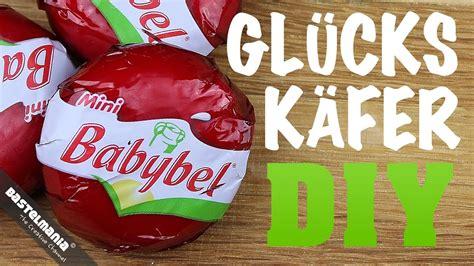 anleitung marienkaefer basteln silvester glueck symbol diy crafts instruction cheese ladybug