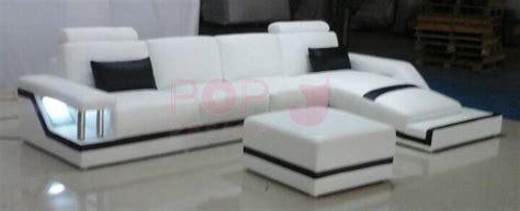 canapé pouf design canapé d 39 angle design en cuir véritable tosca pouf pop