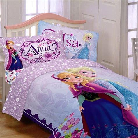 Disney Frozen Anna  Elsa Reversable Twin Comforter