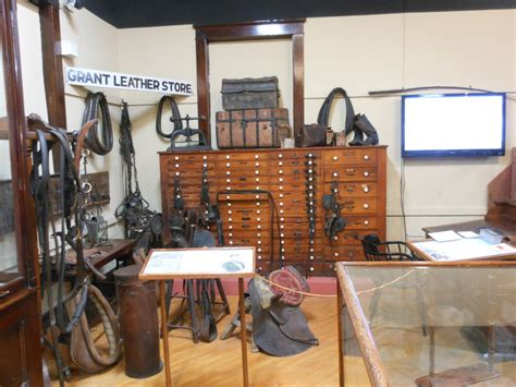 grants leather store galena history museum
