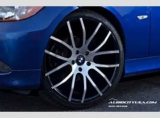 BMW 328i Gets 20 Inch Rims from Giovanna, Stands Tall