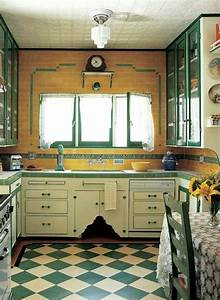 193039s kitchen kitchens pinterest just love the for Kitchen colors with white cabinets with vintage art deco wall clock