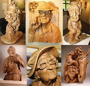 Collection of magnificent woodworks » Wood carvings by