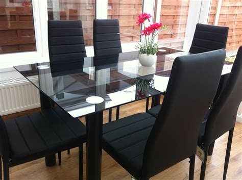 Exquisite Dining Room Round Glass Dinette Sets Table With