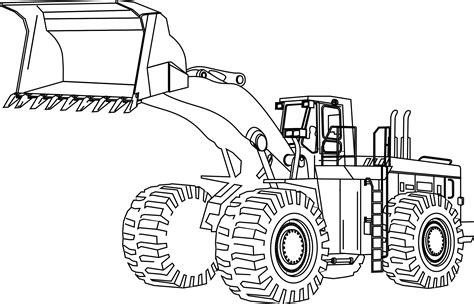 Mighty Machines Coloring Pages