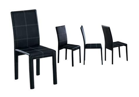 chaise de cuisine en cuir blanc chaise cuisine noir chaise de cuisine en mtal noir et