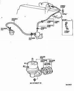 Toyota Corollake70-eekrs - Tool-engine-fuel