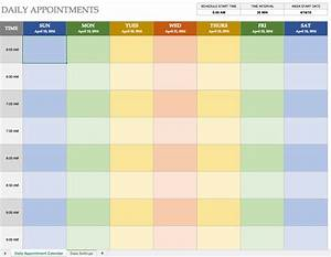 daily planner template cyberuse With calnedar template
