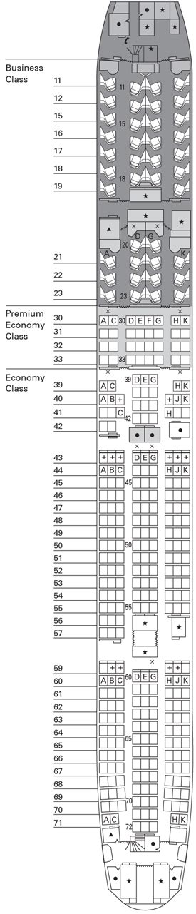 plan si鑒es boeing 777 300er boeing b777 300 informazioni sull 39 aeromobile e configurazione posti cathay pacific