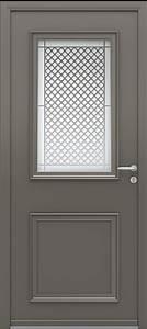 Grille Porte D Entrée : portes d 39 entr e aluminium blennie swao ~ Melissatoandfro.com Idées de Décoration