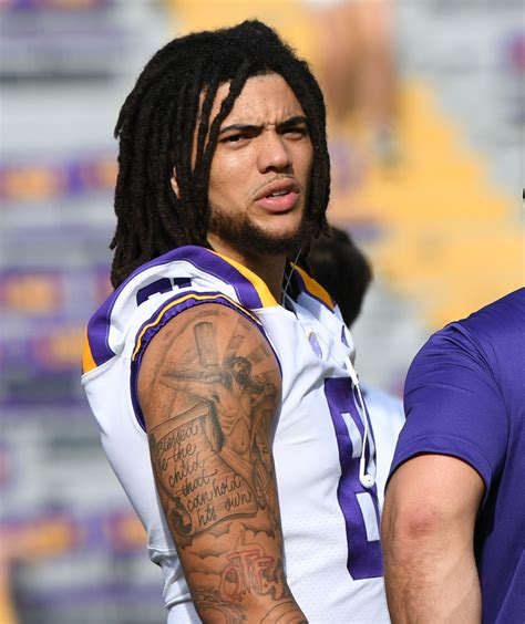 lsu tight  thaddeus moss appears ready