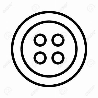 Button Clip Clipart Buttons Portal Care Doorsnede