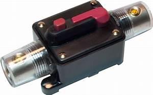 Inline 100 Amp Circuit Breaker Manual Reset 12v 100a 0 2