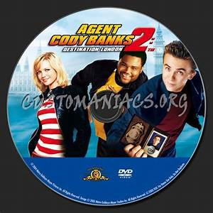 Agent Cody Banks 2 Dvd Label Dvd Covers U0026 Labels By