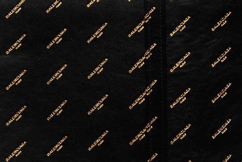 balenciaga introduces signature print bragmybag
