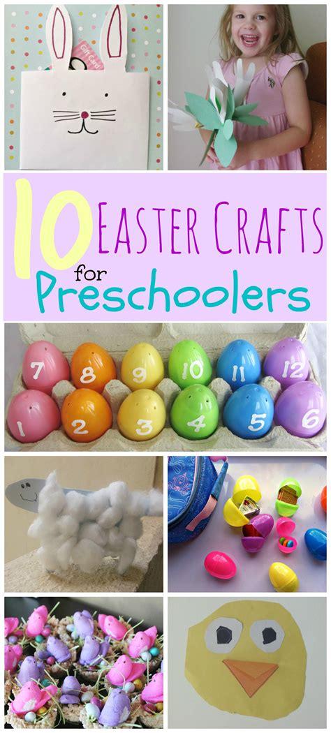 easter crafts  preschoolers mommysavers